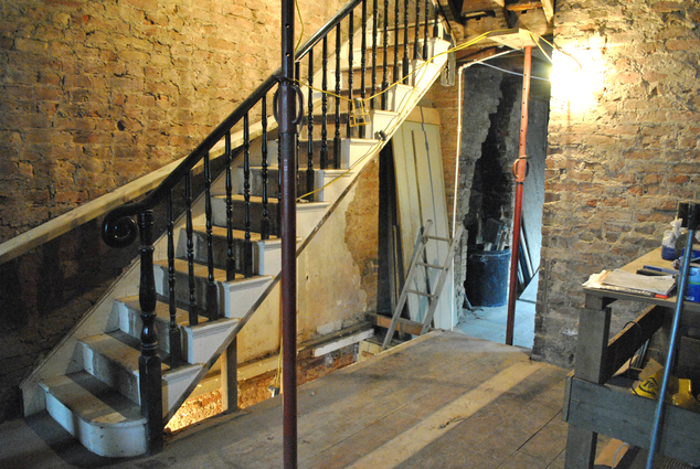 JDK Builders - Before - Staircase