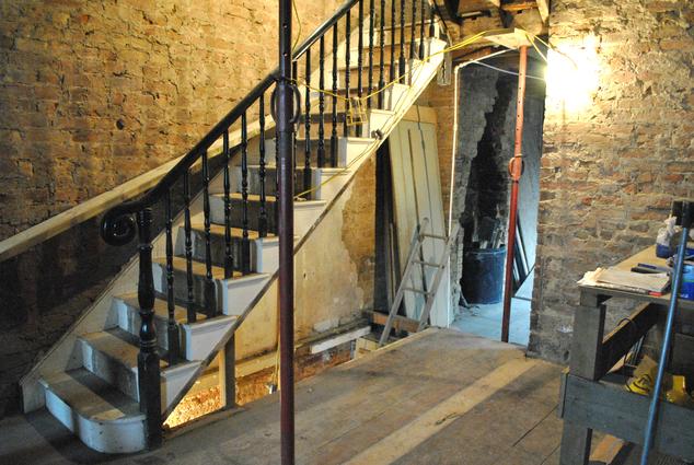JDK Builders - Before - Staircase